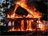 Burning House Image