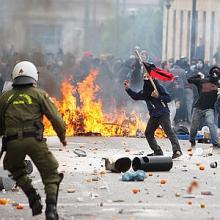 Greece Riots Anniversary