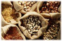 grains, beans, agriculture