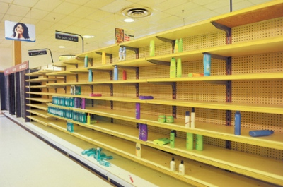 Empty Shelves