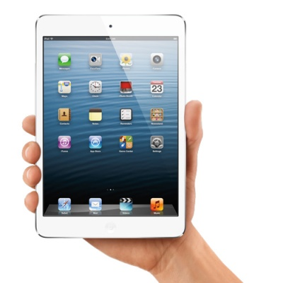 Ipad mini in hand
