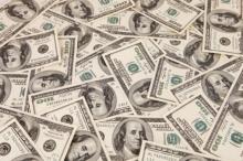 Money, US, $100 bills