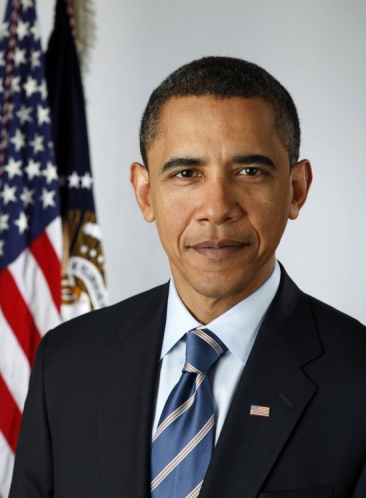 President Barack Obama Official Portrait
