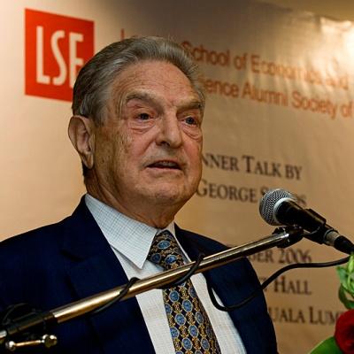 George Soros talk in Malaysia