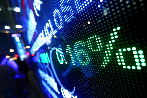 Stock Photo Pictures stock symbol ticker
