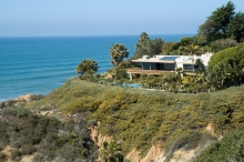 California, mansion, waterfront, estate, big house, rich, wealthy, silicon valley, cliff