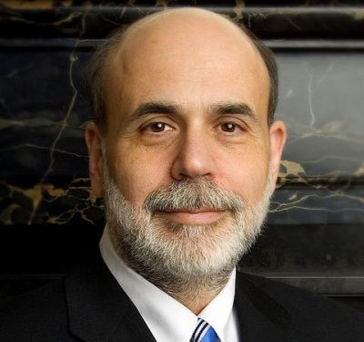 Ben Bernanke Official Portrait