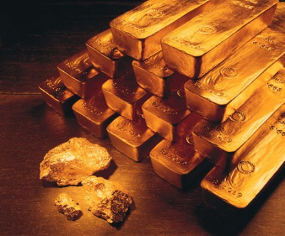 gold bars nuggets