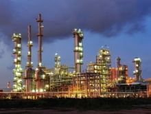 petro chemical plant