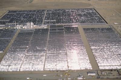 Solar Farm Desert