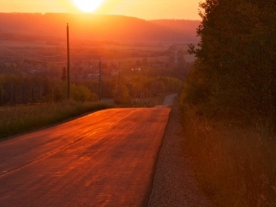 sunset empy road