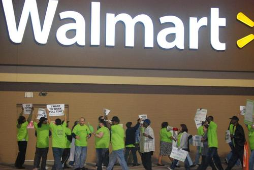 WMT strike Black Friday 2012