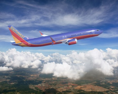 737 MAX 8 artwork SWA Southwest Airlines