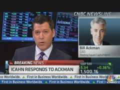 CNBC Ackman Icahn