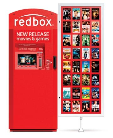 Redbox Coinstar machine