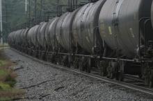 Railroad Oil Tank Cars