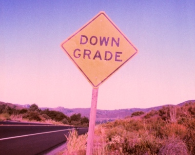 downgrade sign