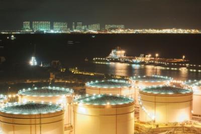 oil storage terminal