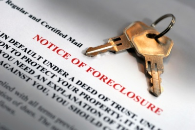 foreclosure notice
