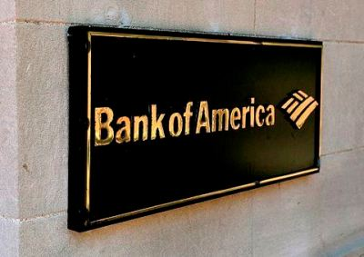 Bank of America sign