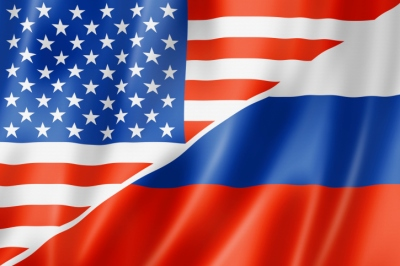 US-Russia Flag