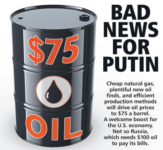 75 dollar oil
