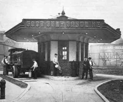Gulf Oil - First Gas Station