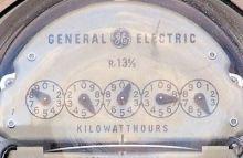 GE Electrical meter