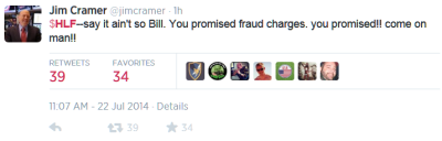 HLF Cramer tweet