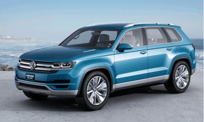 VW CrossBlue concept - 2014