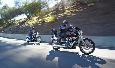 HOG FXDL motorcycle