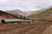 Ruby Pipeline laying