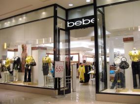 Bebe storefront
