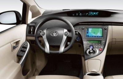 Prius interior