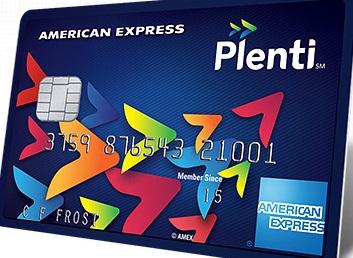Amex Plenti Card