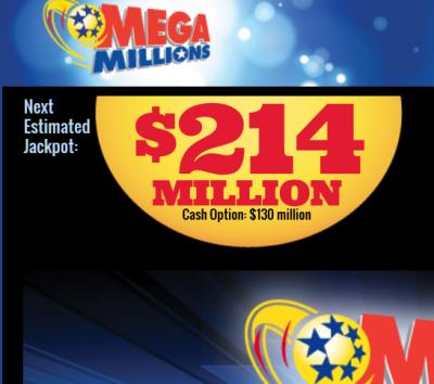 Mega Millions 214M