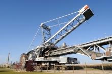 Oil sands mining