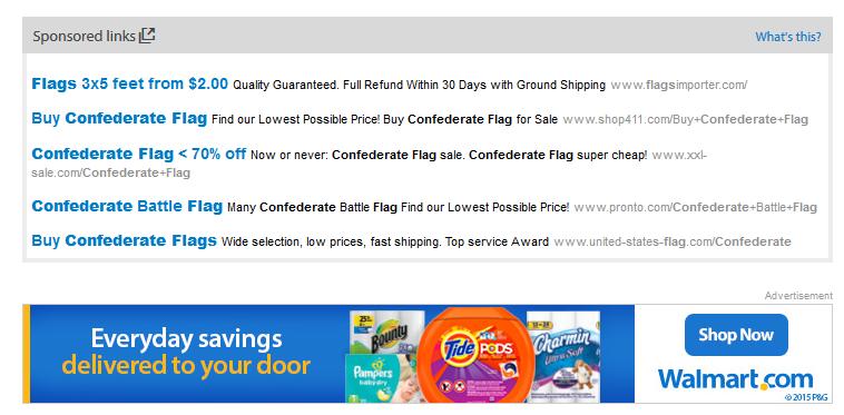 Walmart Flag image