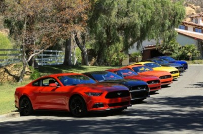 Ford 2015 Mustang - all colors