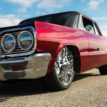 Red Hot Rod Vintage Car