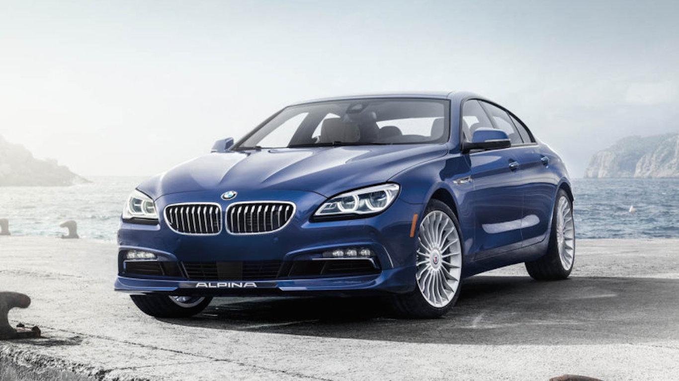 Amazing BMW 6 Series Alpina B6 Gran Coupe XDrive 4D