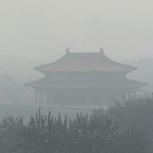 Smoggy Forbidden City