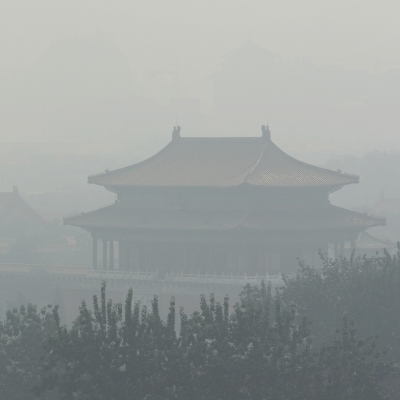 Smoggy Forbidden City