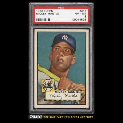1952 Mantle Rookie PWCC