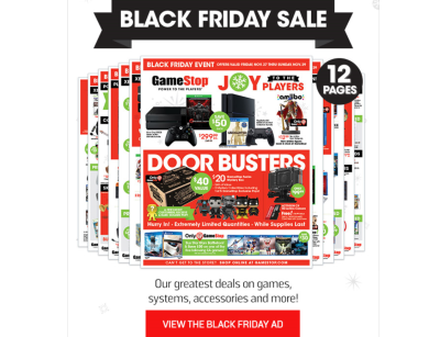Gamestop door busters