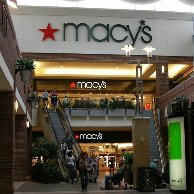 Macy's in the mall