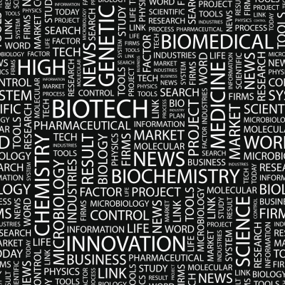 biotech word cloud