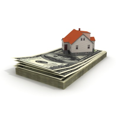 house with cash