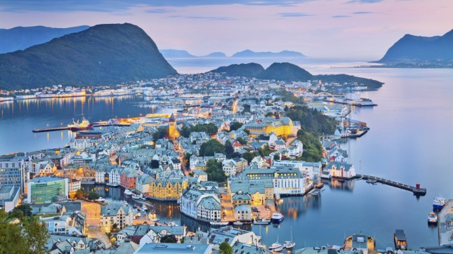 Alesund, Norway (village)
