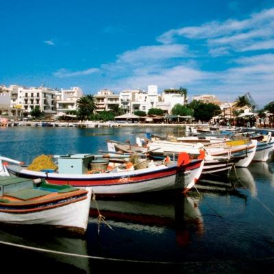Greek fishing boats